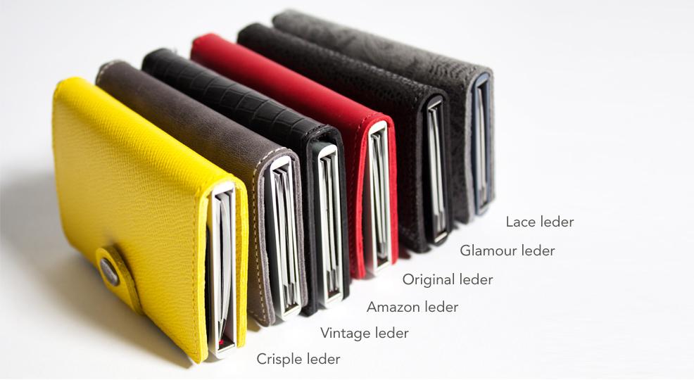 Portemonnee Pasjes Leer.The Little Green Bag Tassen Accessoires En Sieraden