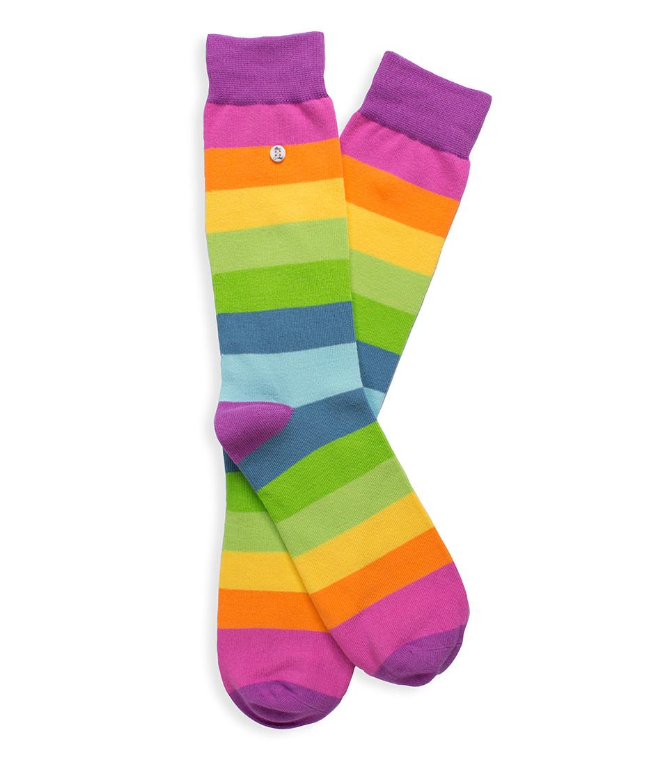 Alfredo Gonzales Sokken The Rainbow Socks Paars