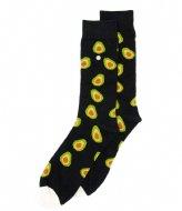 Alfredo Gonzales Avocados Socks black grey (114)