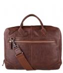 Amsterdam Cowboys-Laptoptassen-Bag Malbis 15 inch-Bruin thumbnail