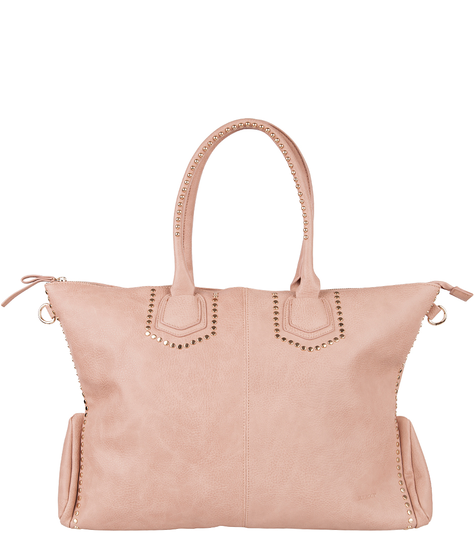 Tassen Uk : Small studs per oud roze bulaggi the little green bag