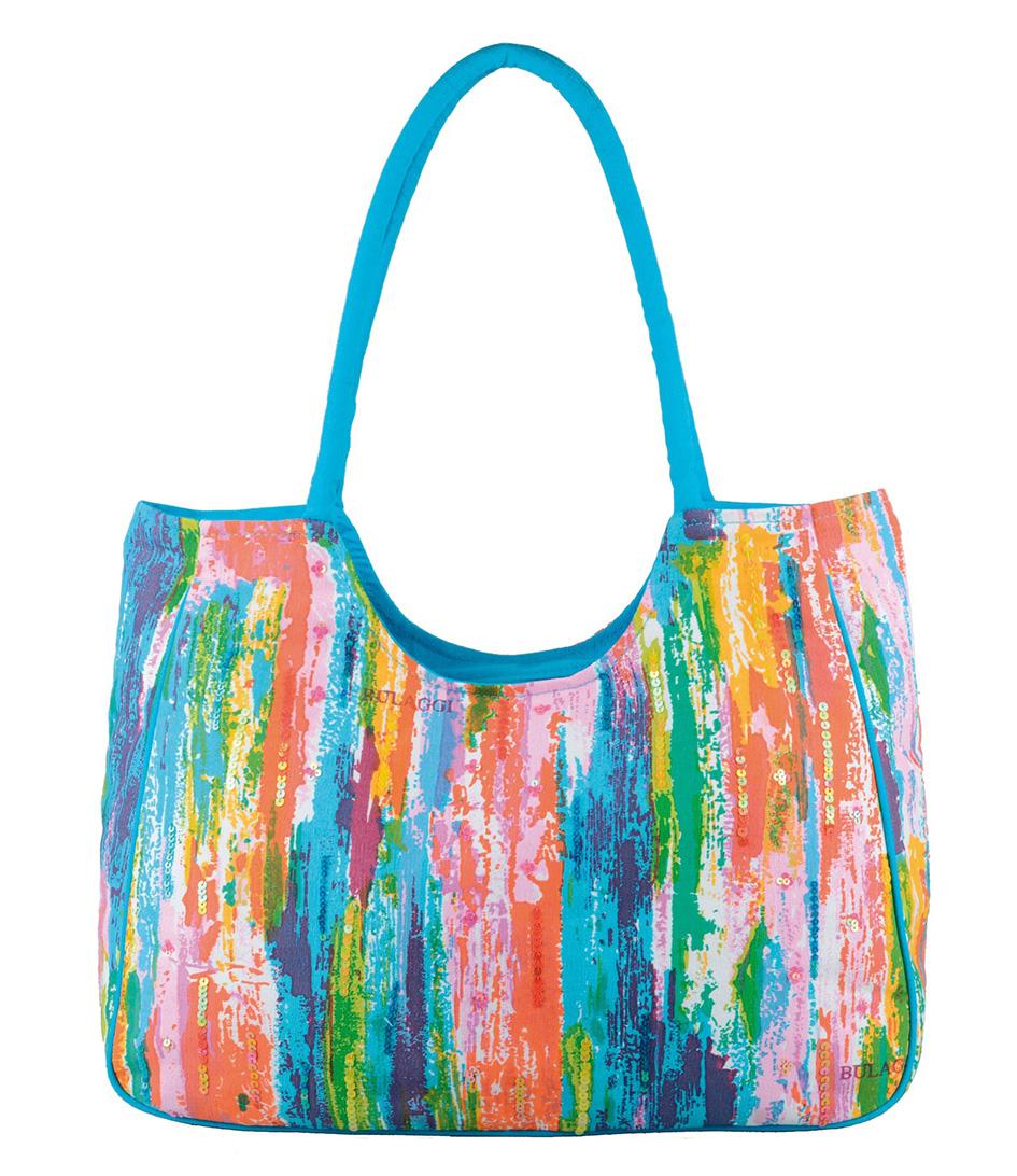 Special Beach Bag lichtblauw Bulaggi | The Little Green Bag