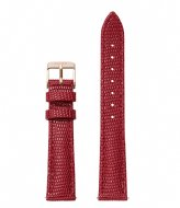CLUSE Minuit Strap Deep Red Lizard deep red lizard rose gold plated (CLS383)