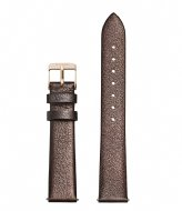 CLUSE Strap Gold Plated 16 mm chocolate brown metallic (CS1408101051)