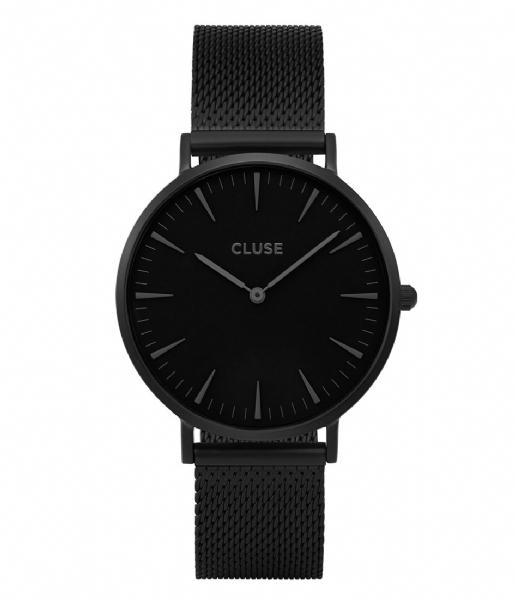 CLUSE Horlogebandje Boho Chic Strap Mesh black color (CLS048)