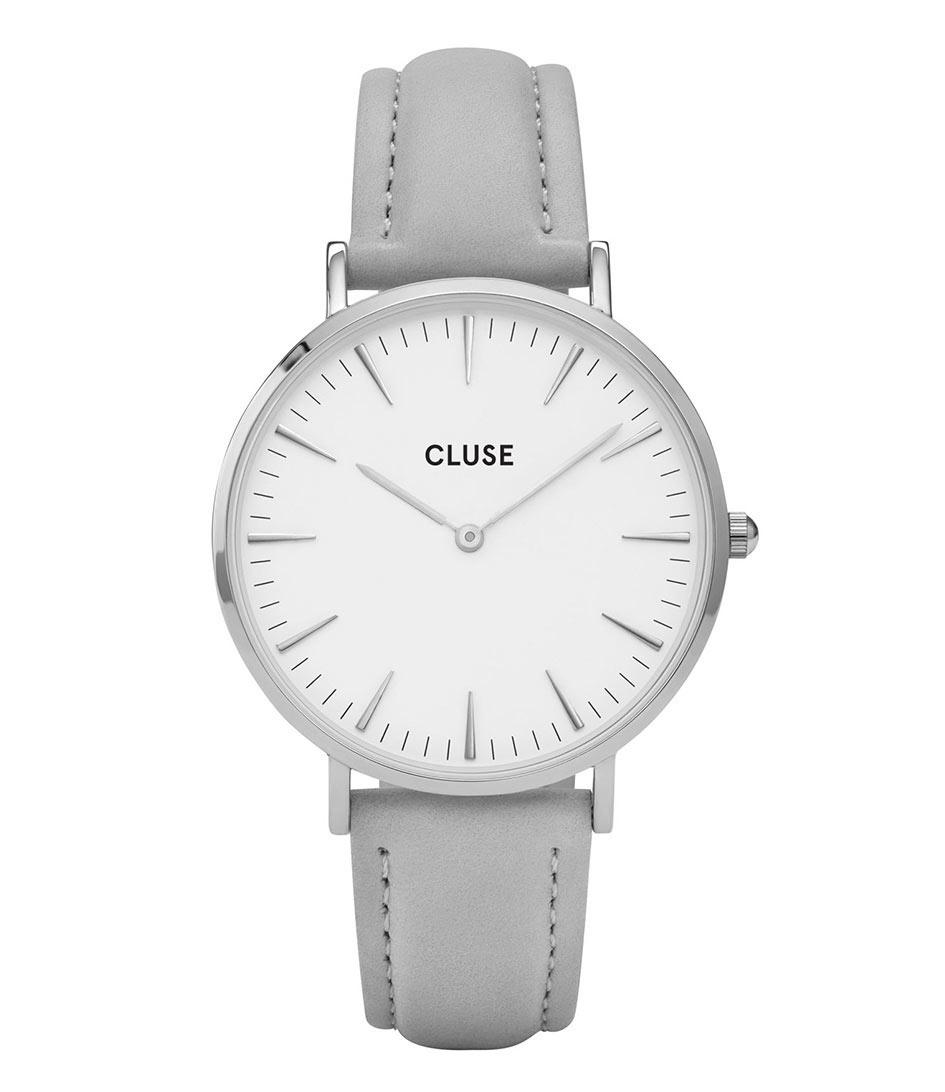 CLUSE Horloges La Boheme Silver White Grijs