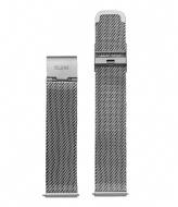 CLUSE Minuit Strap Mesh mesh silver color (CLS345)