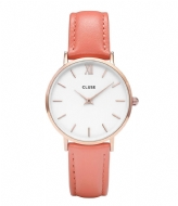CLUSE Minuit Rose Gold Colored White rose gold colored white flamingo (30045)