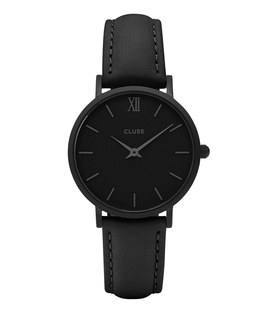 CLUSE Horloges Minuit Full Black Zwart