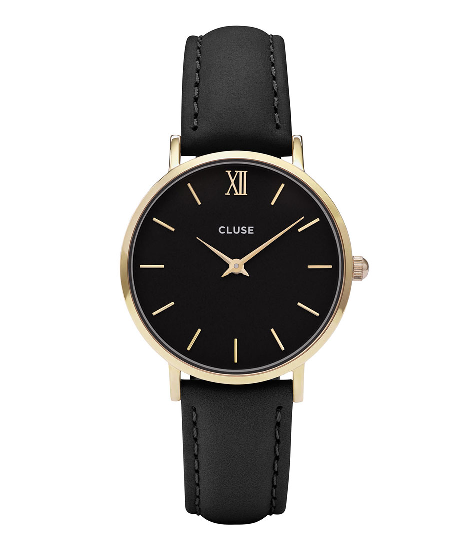 Minuit Gold Plated Black