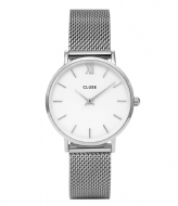 CLUSE Minuit Mesh Silver Colored White silver colored white (CW0101203002)