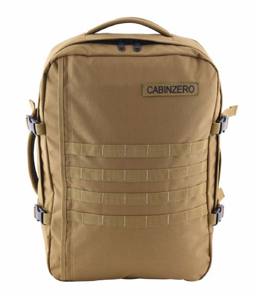 CabinZero Outdoor rugzak Military Cabin Backpack 44 L 15 Inch desert sand
