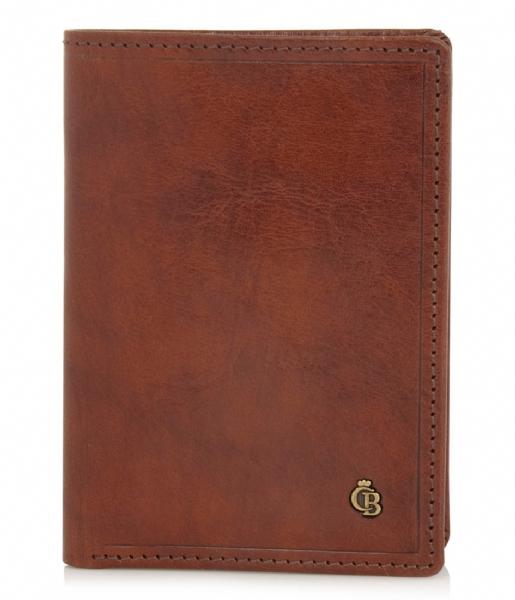 Castelijn & Beerens Pasjes portemonnee Dutch Masterpiece Creditcard Etui cognac