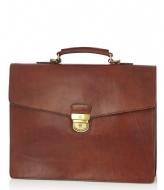 Castelijn & Beerens Dutch Masterpiece Laptop Bag 15.4 inch cognac