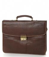 Castelijn & Beerens Verona Laptop Bag  13.3 inch mocca