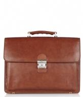 Castelijn & Beerens Realtà Laptop Bag 15.4 inch cognac