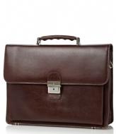 Castelijn & Beerens Realtà Laptop Bag 13.3 inch mocca