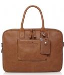 Castelijn & Beerens Carisma Dames Laptoptas 15,6 inch Cognac