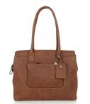 Castelijn en Beerens Carisma Ladies Business Bag 9664 Cognac
