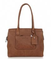 Castelijn & Beerens Carisma Laptop Bag 15 inch cognac