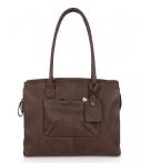 Castelijn en Beerens Carisma Ladies Business Bag 9664 Mocca