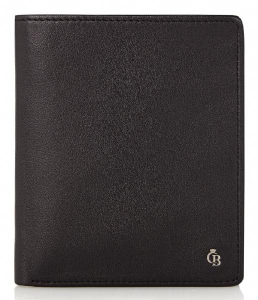 Castelijn & Beerens Bi-fold portemonnee Vita Billfold Wallet black
