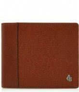 Castelijn & Beerens Vivo Card Billfold Wallet cognac