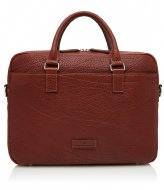 Castelijn & Beerens Exclusive Laptop Bag 15.6 Inch + Tablet mahonie