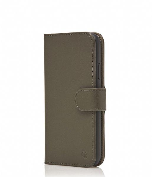 Castelijn & Beerens Smartphone cover Nappa RFID Wallet Case iPhone XR dark military