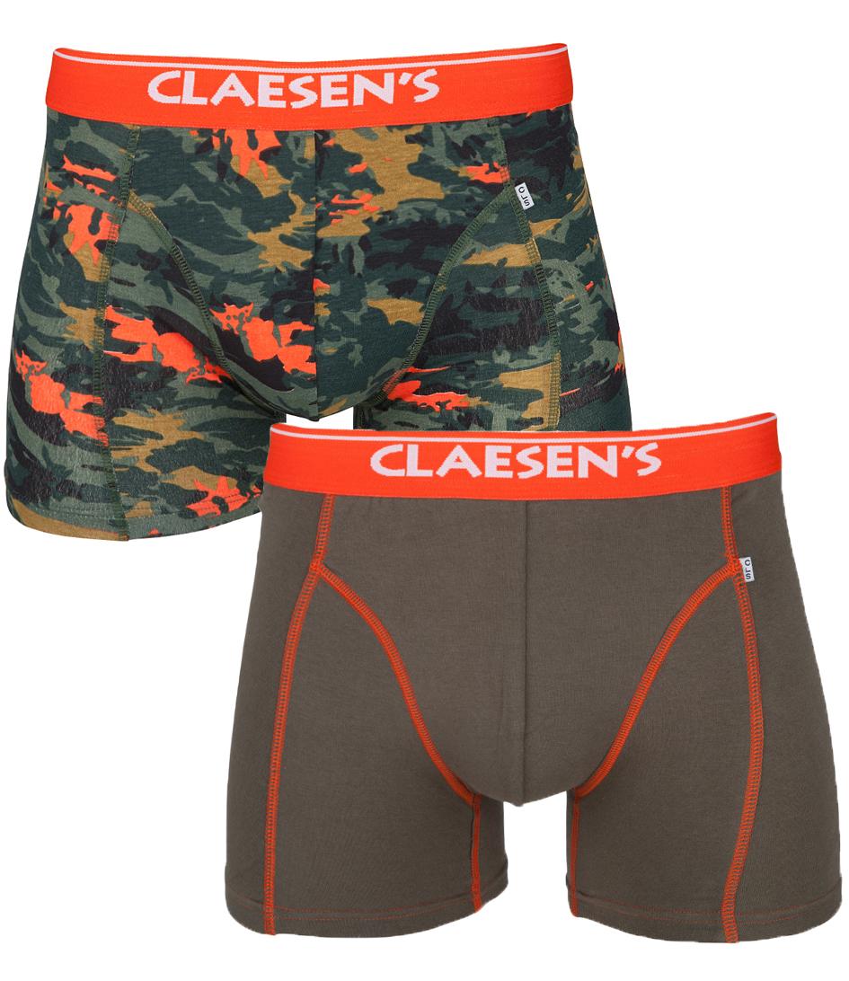 Claesens Boxershorts 2 Pack Jungle Groen
