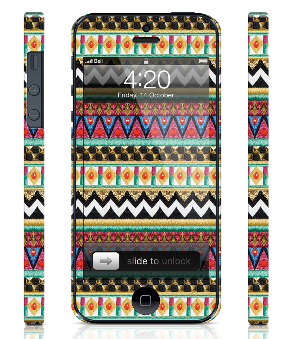ColorSwitch Smartphone covers Aztec Sass Case Geel