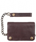 Cowboysbag-Portemonnees-Wallet Chain-Bruin thumbnail