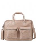 Cowboysbag-Laptoptassen-The College Bag 15.6 inch-Beige