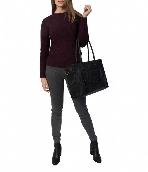 Cowboysbag Schoudertas Bag Edgemore 15 inch black (100)