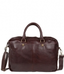 Cowboysbag-Laptoptassen-Laptop Bag Washington 15.6 Inch-Bruin