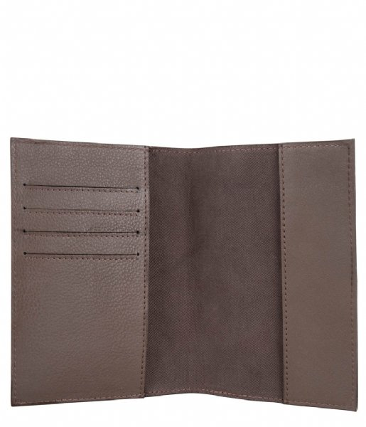 Cowboysbag Paspoorthouder Passport Cover Edina Taupe (590)