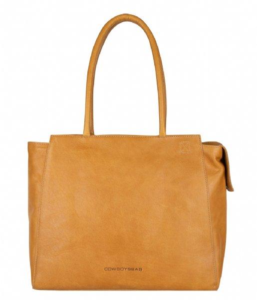 Cowboysbag Laptop schoudertas Bag Evi Amber (465)