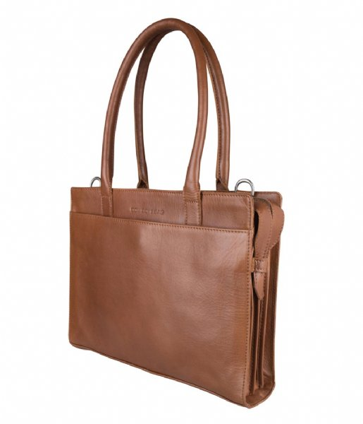 Cowboysbag Laptop schoudertas Laptop Bag Jade 13 inch X Bobbie Bodt Tan (381)