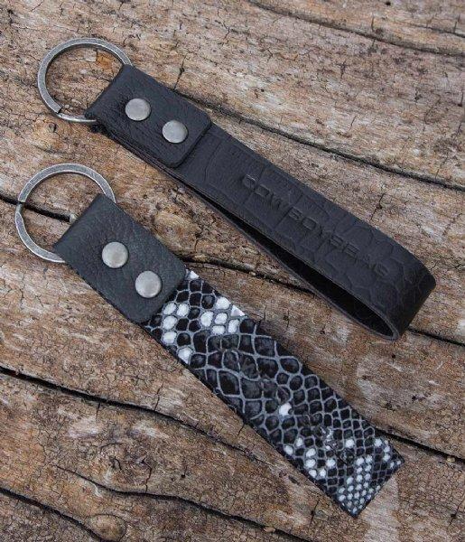Cowboysbag Sleutelhanger Keychain Lolite X Bobbie Bodt Snake Black and White (107)