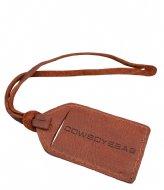 Cowboysbag Leather Luggage Tag Classic Cognac (300)