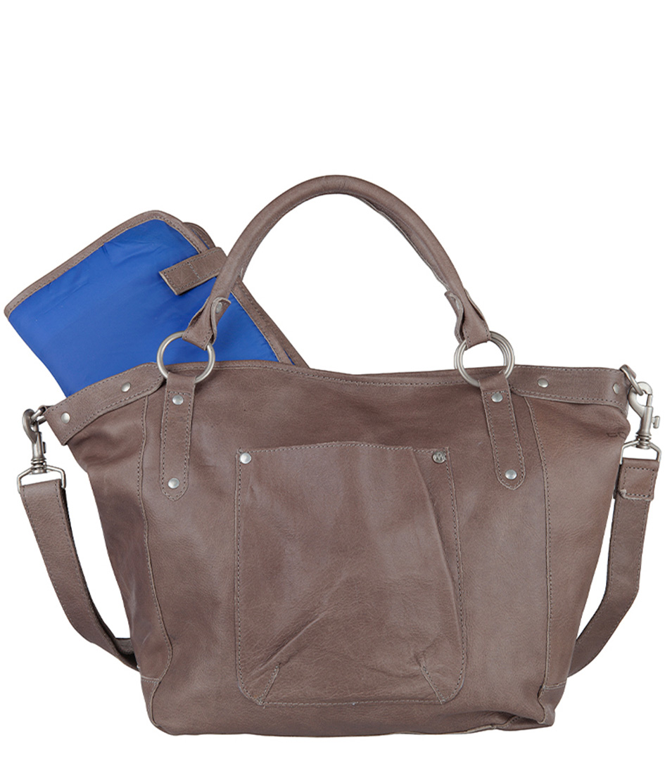 Cowboysbag Luiertassen Bag Bourne Grijs