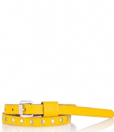 Cowboysbelt Kids Kids Belt 158009 yellow