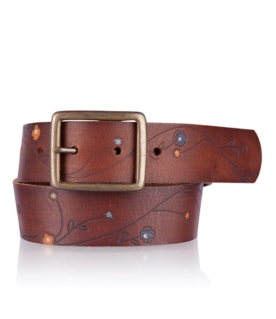 riem 358216 brown cowboysbelt the green bag