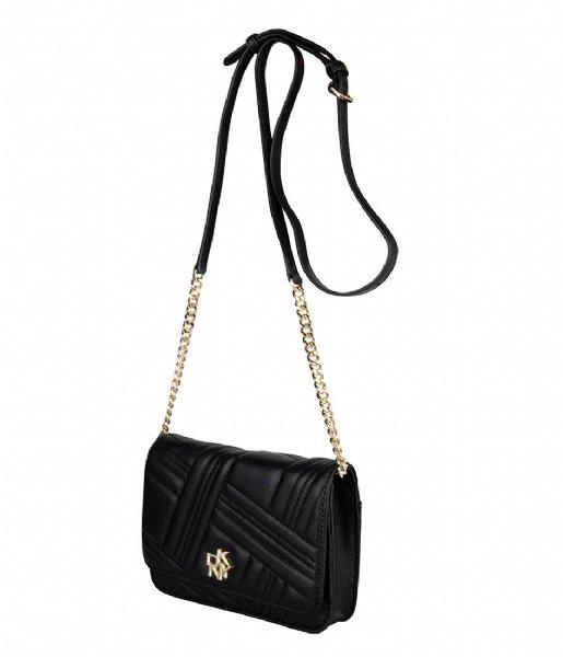 DKNY Crossbodytas Alice Wallet Black gold