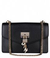 DKNY Elissa Large Shoulderbag Black gold