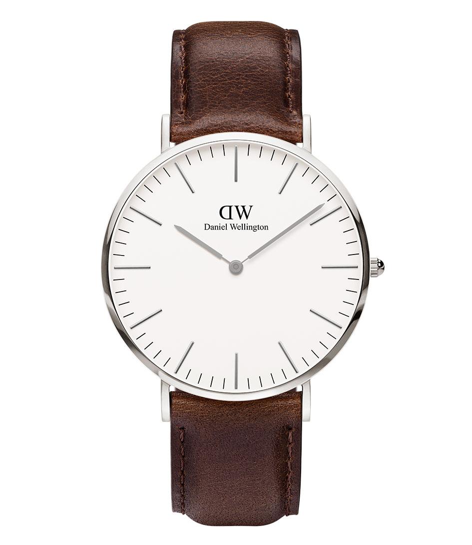 Daniel Wellington Horloges Bristol 40 mm Zilver