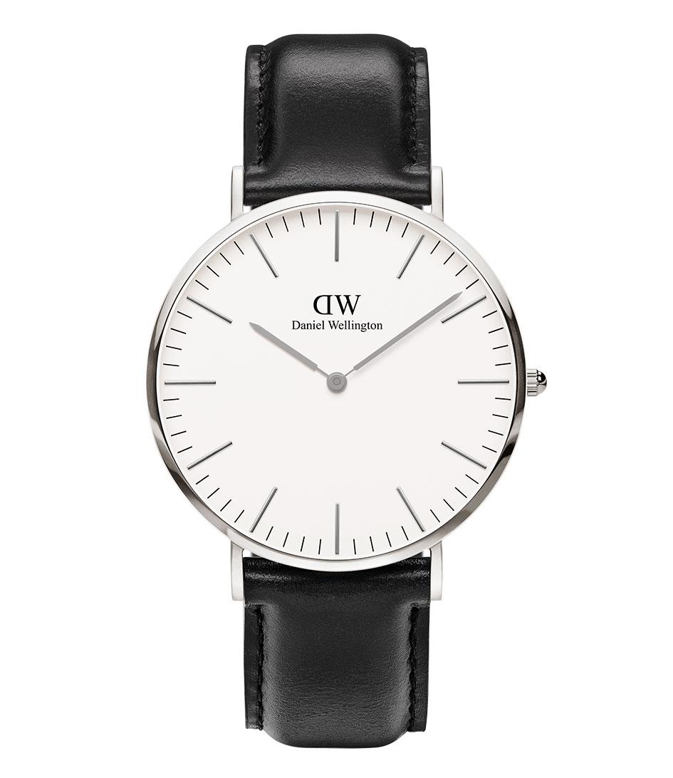 Daniel Wellington Horloges Sheffield 40 mm Zilver