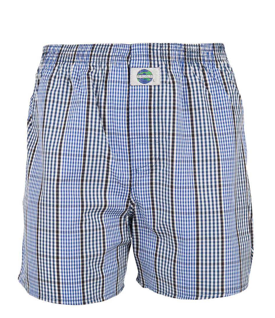 boxershort check blue check the little green bag. Black Bedroom Furniture Sets. Home Design Ideas