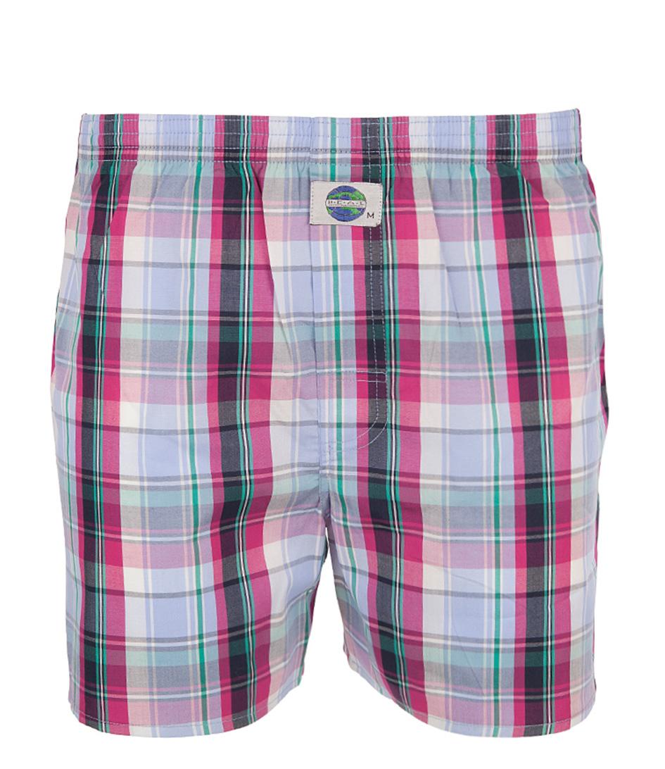 boxershort check pink deal the little green bag. Black Bedroom Furniture Sets. Home Design Ideas