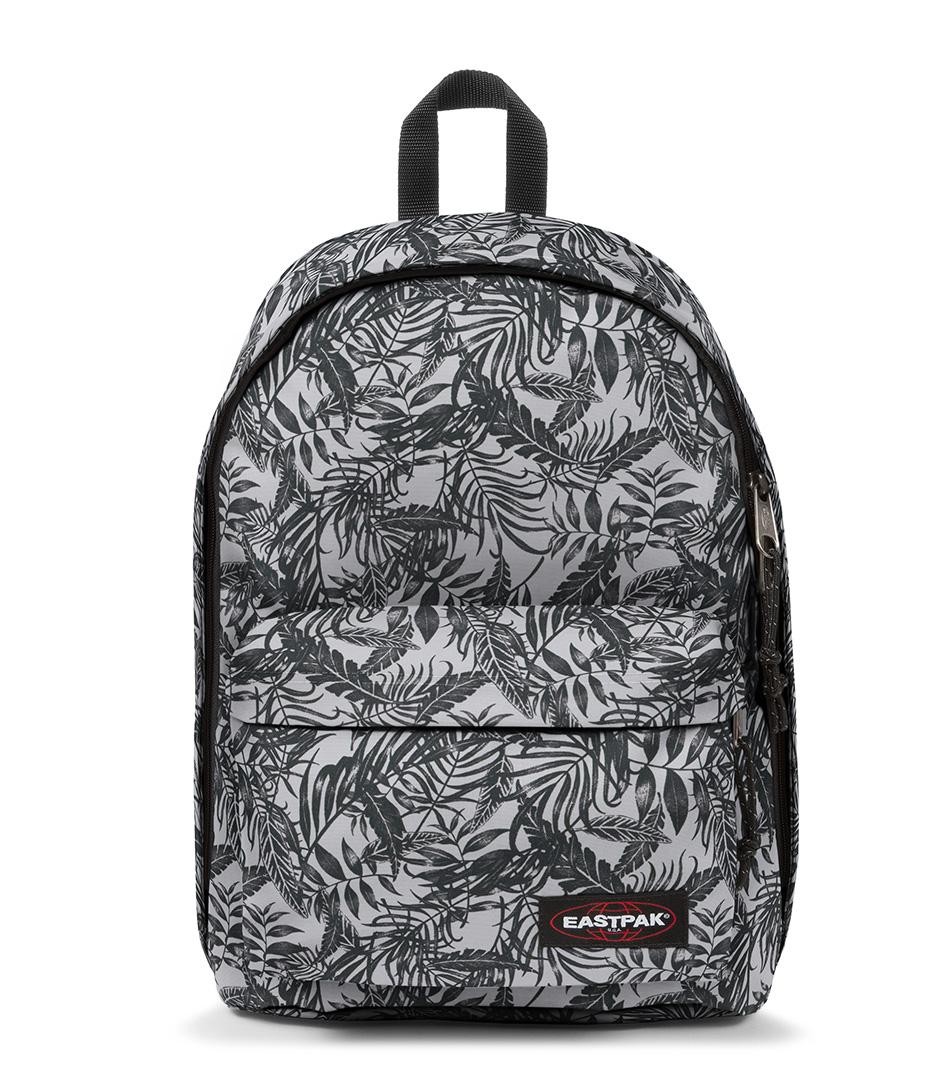 Schooltassen Dames Eastpak : Out of office brize black white eastpak the little green bag
